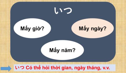 Khi nào? Tiếng Nhật là gì? →いつ? Vàいつですか? Ý nghĩa, cách dùng của cấu trúc này!【Ngữ  pháp N5】