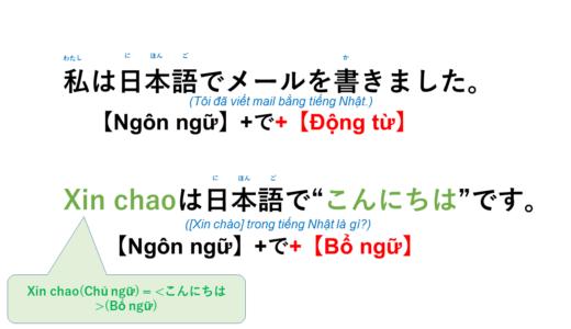 [Trong tiếng Nhật là gì] Tiếng Nhật là gì?→ 日本語で何ですか? Ý nghĩa, cách dùng của cấu trúc này!【Ngữ  pháp N5】