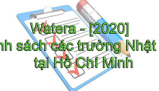 [2020] Danh sách các trường Nhật ngữ tại Hồ Chí Minh