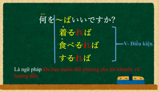 """""""Nên làm gì ~ thì tốt?"""" tiếng Nhật là gì?(Tính từ)→何を~ばいいですか? Ý nghĩa và cách sử dụng."""