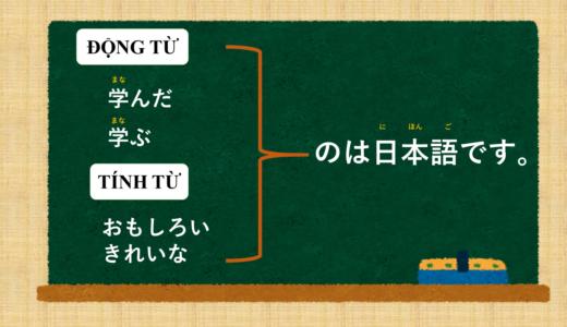 """""""~ là N"""" tiếng Nhật là gì?→~のはNです Ý nghĩa và cách sử dụng."""